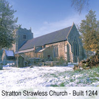 Stratton Strawless Church