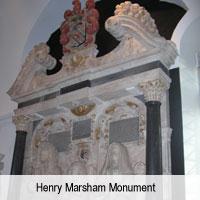 Henry Marsham Monument
