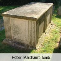 Robert Marcham's Tomb